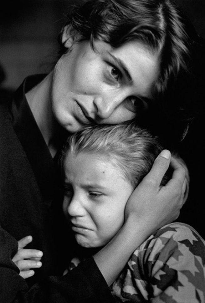 Mère et sa fille malade, Hopital Sugdidi, Georgie